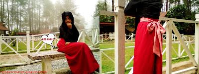 maxi skirt style, skirt muslimah, hanis zalikha