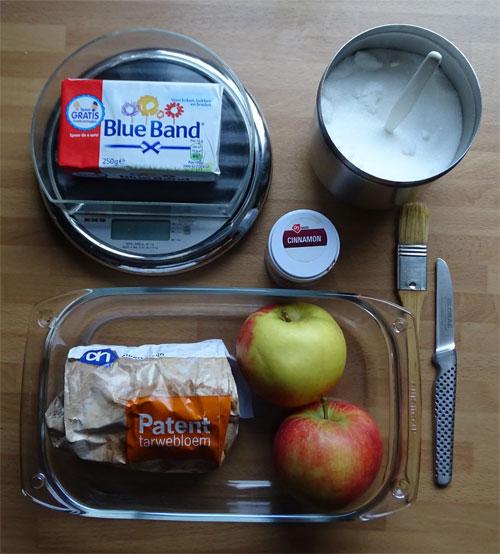 ingredienten appelcrumble
