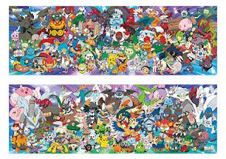 Novos Puzzles da franquia Pokémon