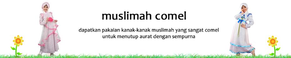 Koleksi Gaun Kanak-kanak Muslimah Comel Gaya Terkini
