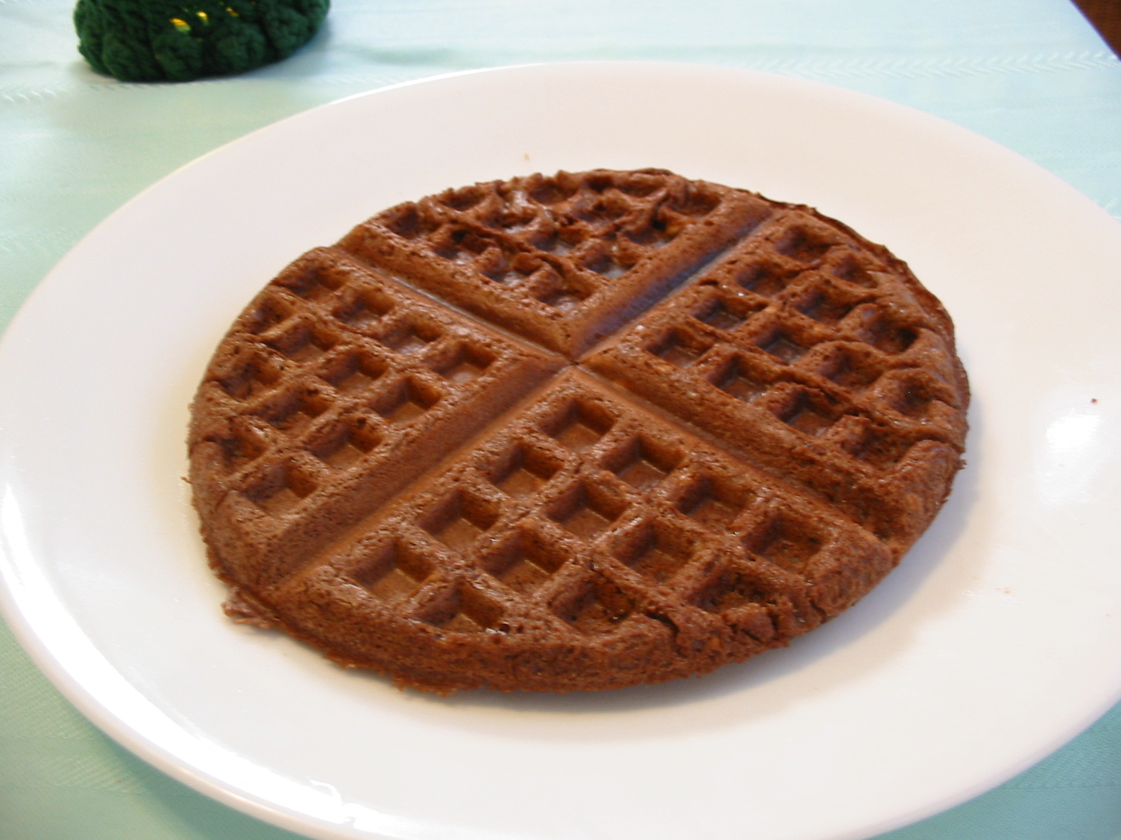 The Chocolate Cult: Simple Chocolate Waffles Recipe