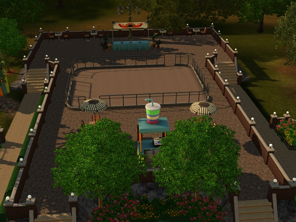 my sims 3 blog evansdale festival park by my sim realty