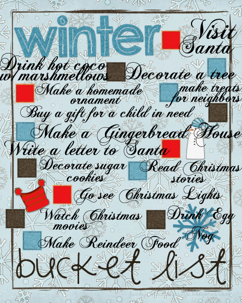 ideas about Winter Bucket Lists on Pinterest   Holiday dates  List of goals and Winter tips Pinterest