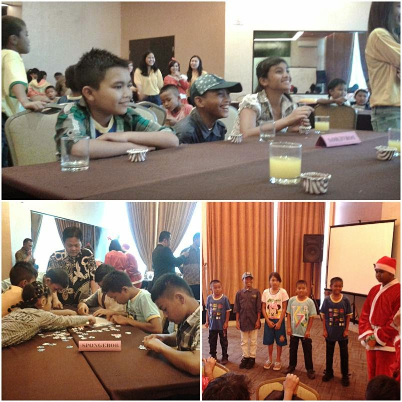 Acara Christmas Light Up Mikie Holiday Bersama Anak Sinabung