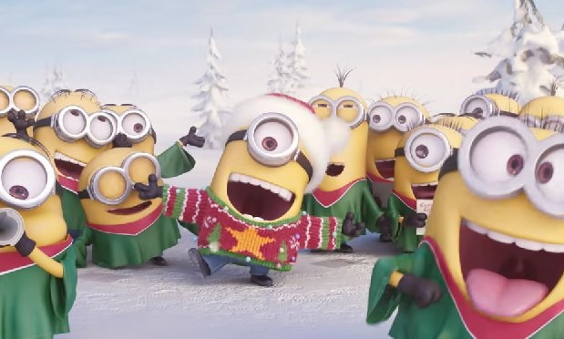 Minions Jingle Bells