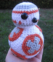 Free Star Wars Bb 8 Crochet Pattern : 2000 Free Amigurumi Patterns: Free BB-8 crochet pattern