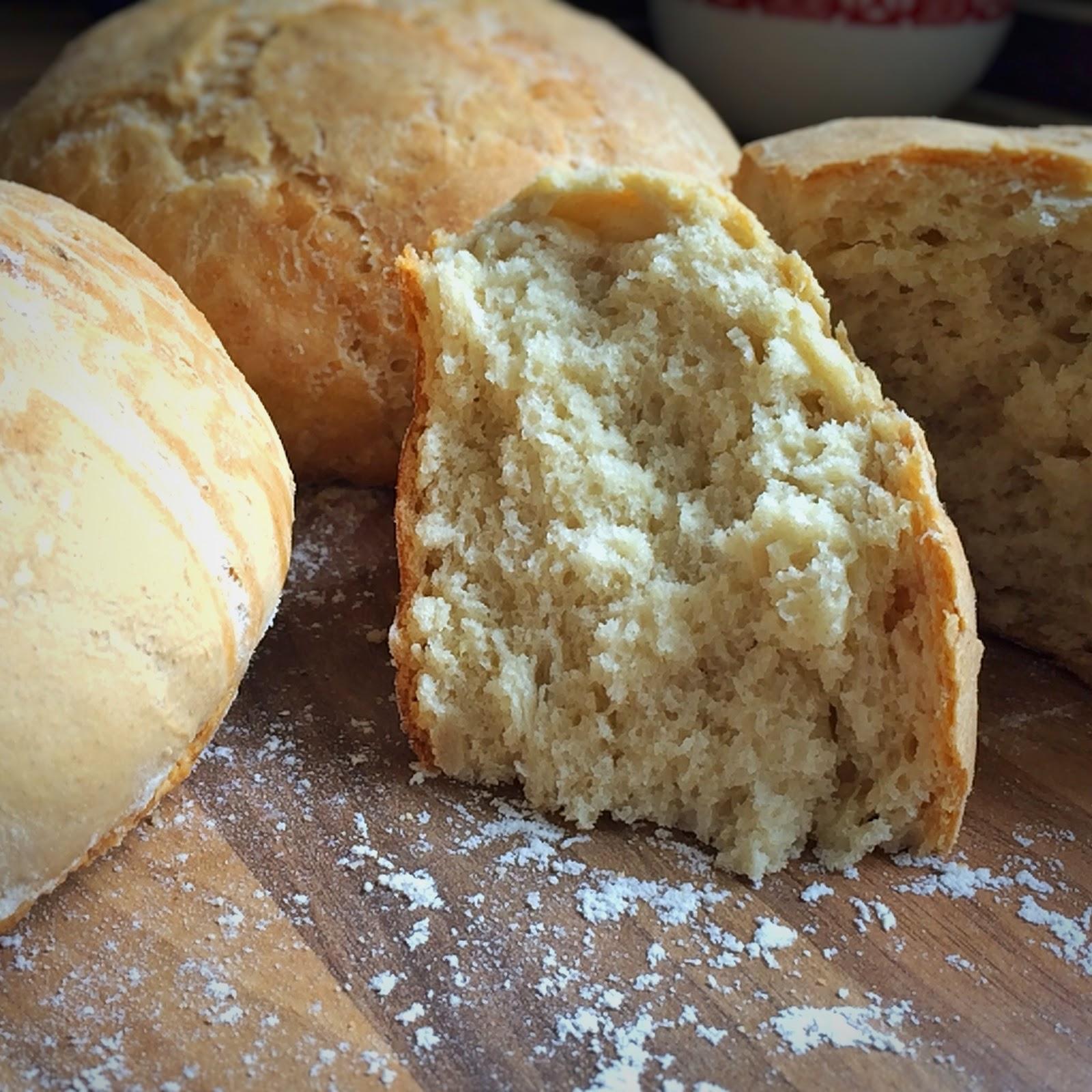 marokanski chleb wiejski, ptysiu mietowy