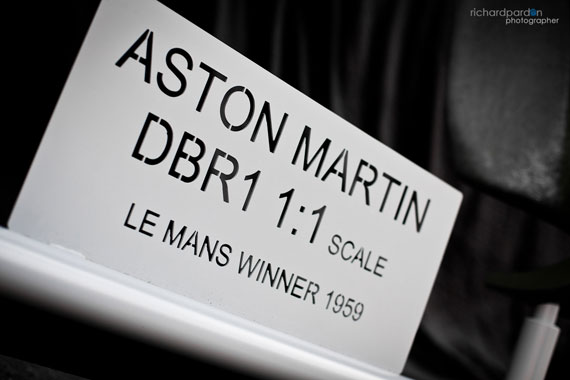 ASTON MARTIN DBR1 1:1 SCALE MODEL