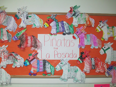 The Pa-Paw Patch, christmas around the world preschool theme, vale nc daycare, vale nc childcare, la posada bulletin board, la posada preschool theme