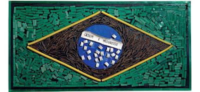 Mestres da Obra - bandeira do Brasil
