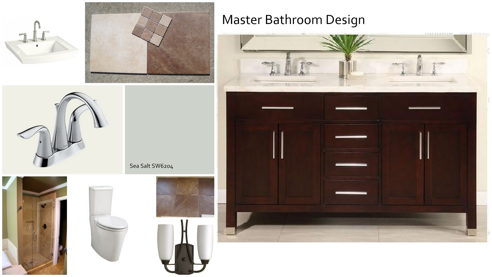 Bathroom Design Board i married a tree hugger: design boards