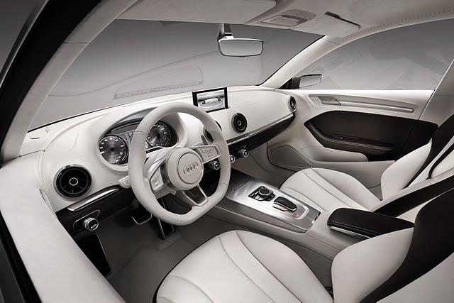 Audi A3 e-tron Concept Interior