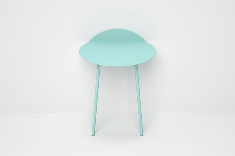 mesa auxiliar Kaki
