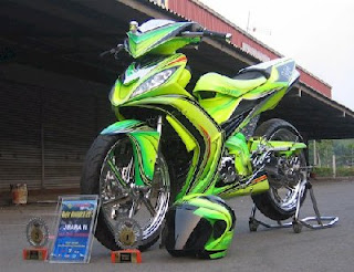 Modifikasi Jupiter Z dan MX
