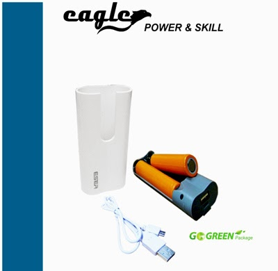 Power Bank Eser Eagle Go-green 6200 mAh