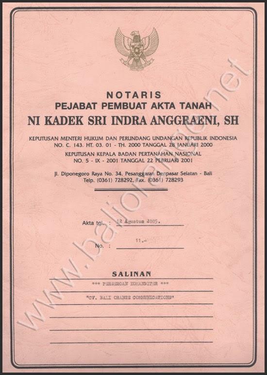 On working...: Contoh Dokumen SIUP, NPWP, Akta Notaris ...