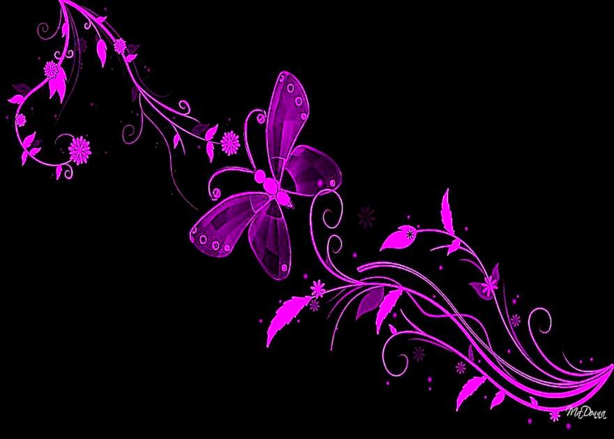 Pink and black screensavers free hd wallpapers for Bright pink wallpaper uk