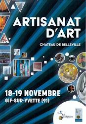 ARTISANAT D'ART au château de Belleville à GIF