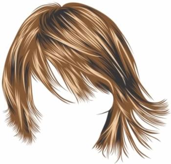 cara paling mudah memvectorkan rambut