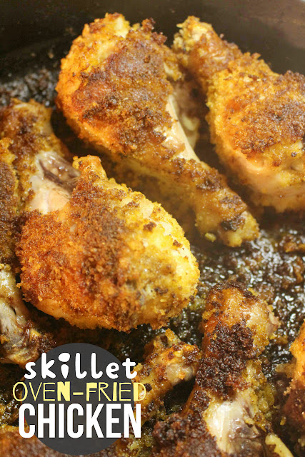 Skillet Oven-Fried Chicken   Sugar for Breakfast: Skillet ...