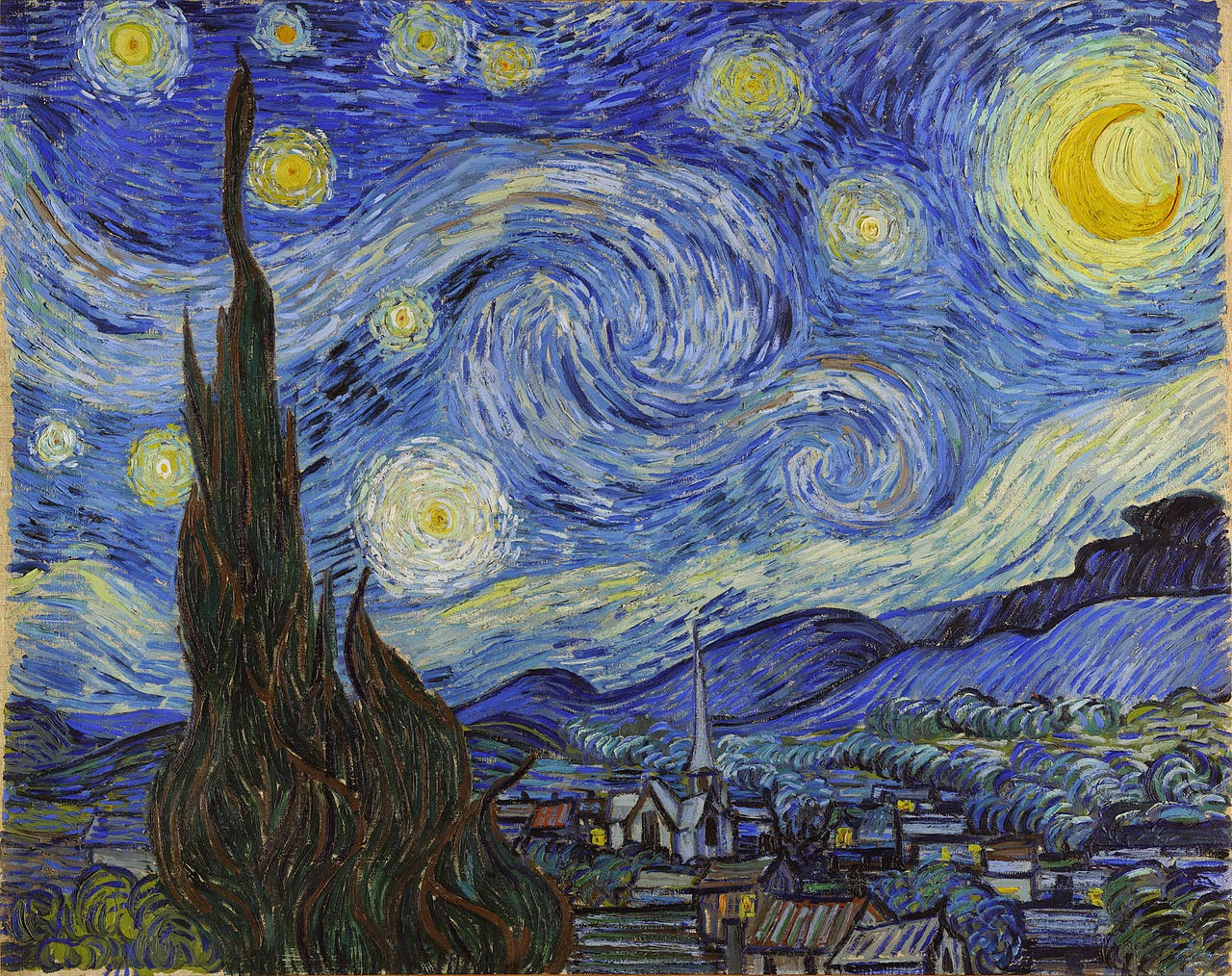 van gogh s starry night and salvador How is it that a squirrel reaching for a walnut can summon the sistine chapel   the whirling panorama of van gogh's starry night was painted as much from  imagination as  salvador dali's the persistence of memory.