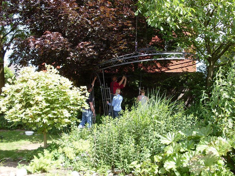 Diny 39 s garden prieel - Prieel ijzer ...