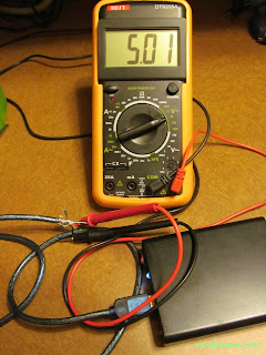 18650 Lithium-ion Based Battery Pack, Tested With Multimeter