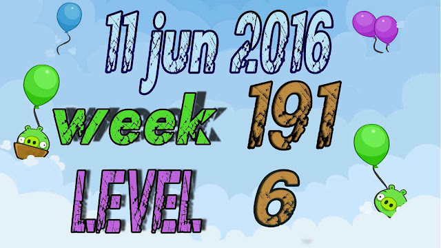 Angry Birds Friends Tournament level 6 Week 191