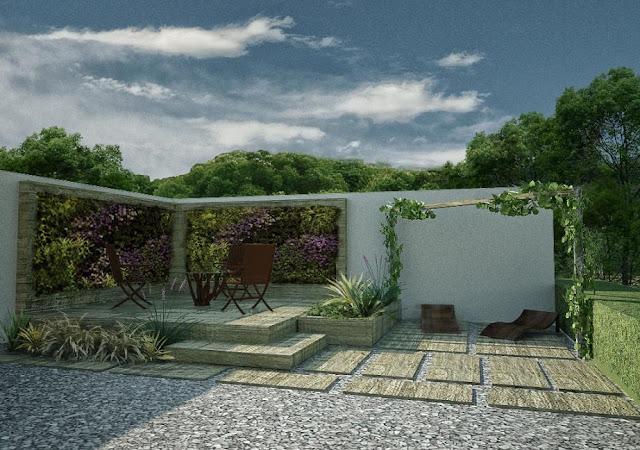 udowa ogrodow wertykalnych, mieszkanie
