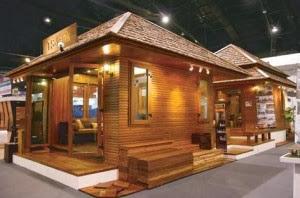 tips desain rumah kayu