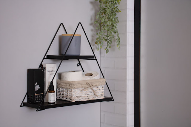 Prateleira Rústica Decorativa Triangular