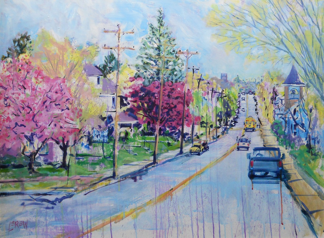 Spring is on the way painting