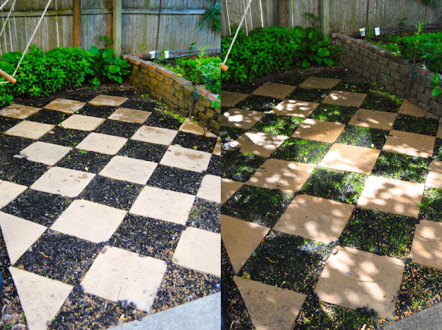 the checkerboard garden