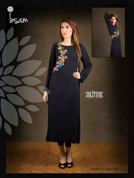 Insam Formal Chiffon Suit Collection for Girls