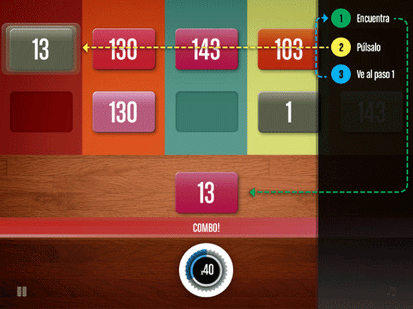 Aplicaciones para el entrenamiento cerebral NumberOne