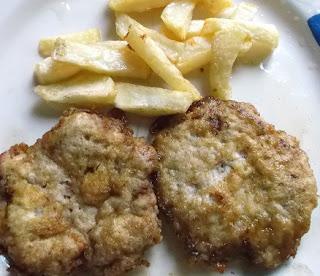 hamburguesa patatas