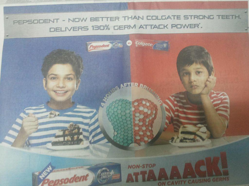 marketing case study toothepaste
