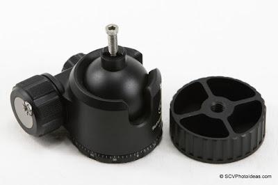 Hand testing of hex-socket cap screw on ball head stem