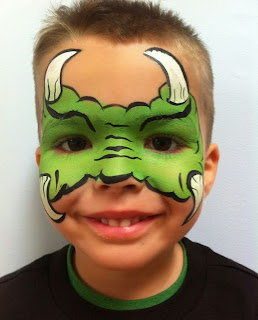 Monster Face Painting