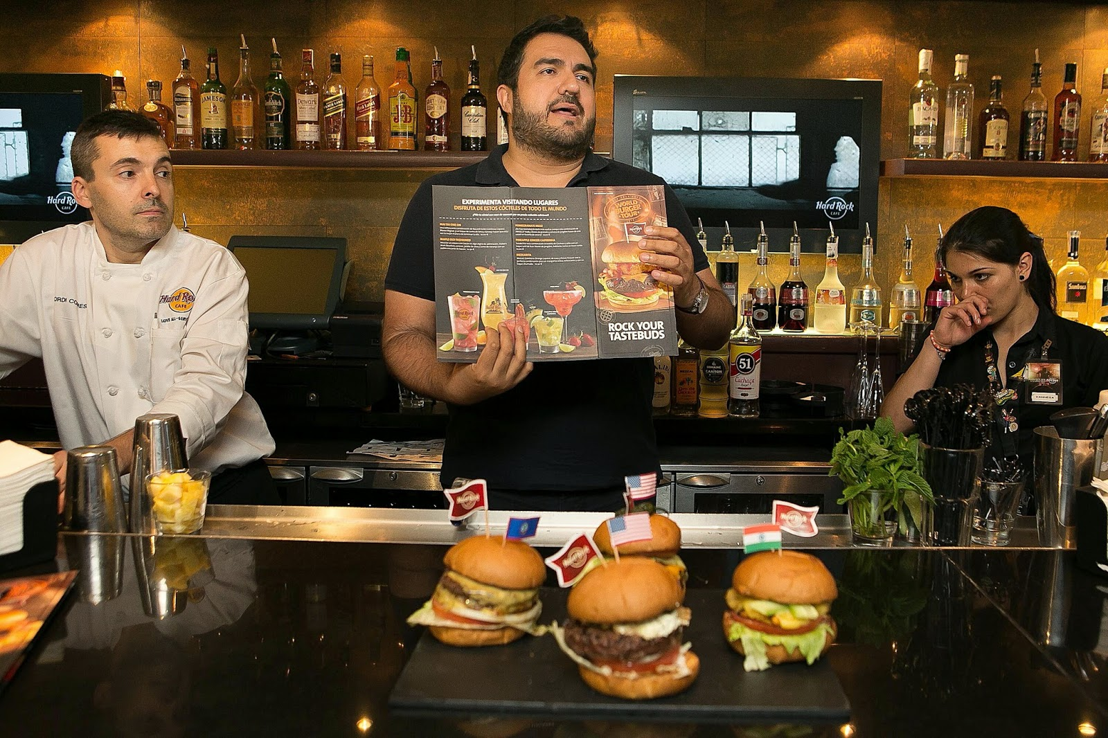Hardrock cafe Barcelona Burguer week