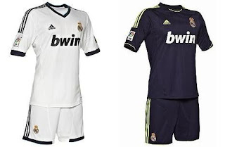 Real Madrid Uniform 2012-2013