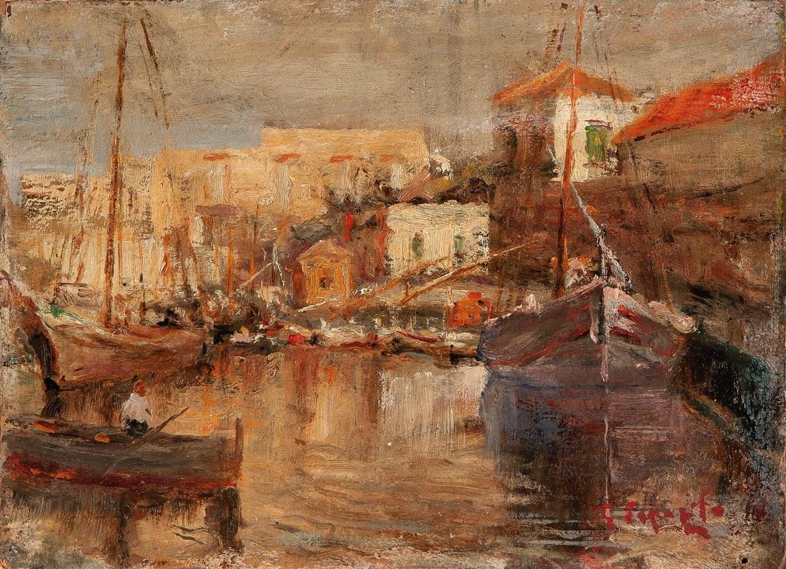 Gaetano Esposito In porto