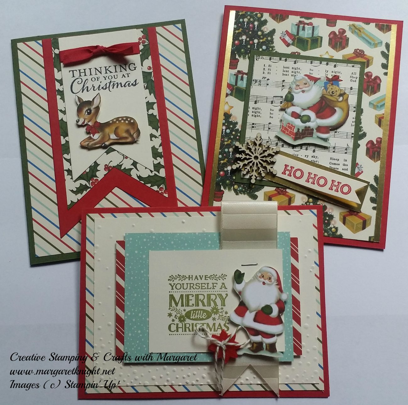 Vintage theme christmas creative stamping with margaret for Christmas theme design