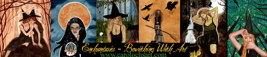 Enchantasies - Bewitching Witch Art by Carol Ochs