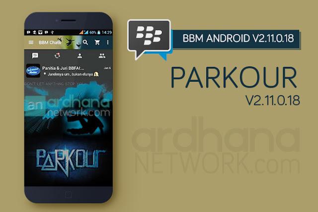 BBM Parkour V2.11.0.18 - BBM Android V2.11.0.18