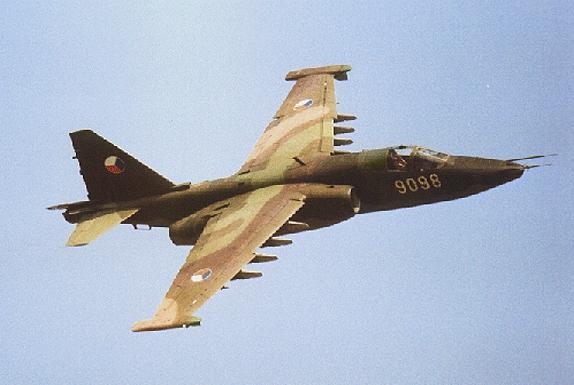 Su-25 Frogfoot Anti-Tank Aircraft