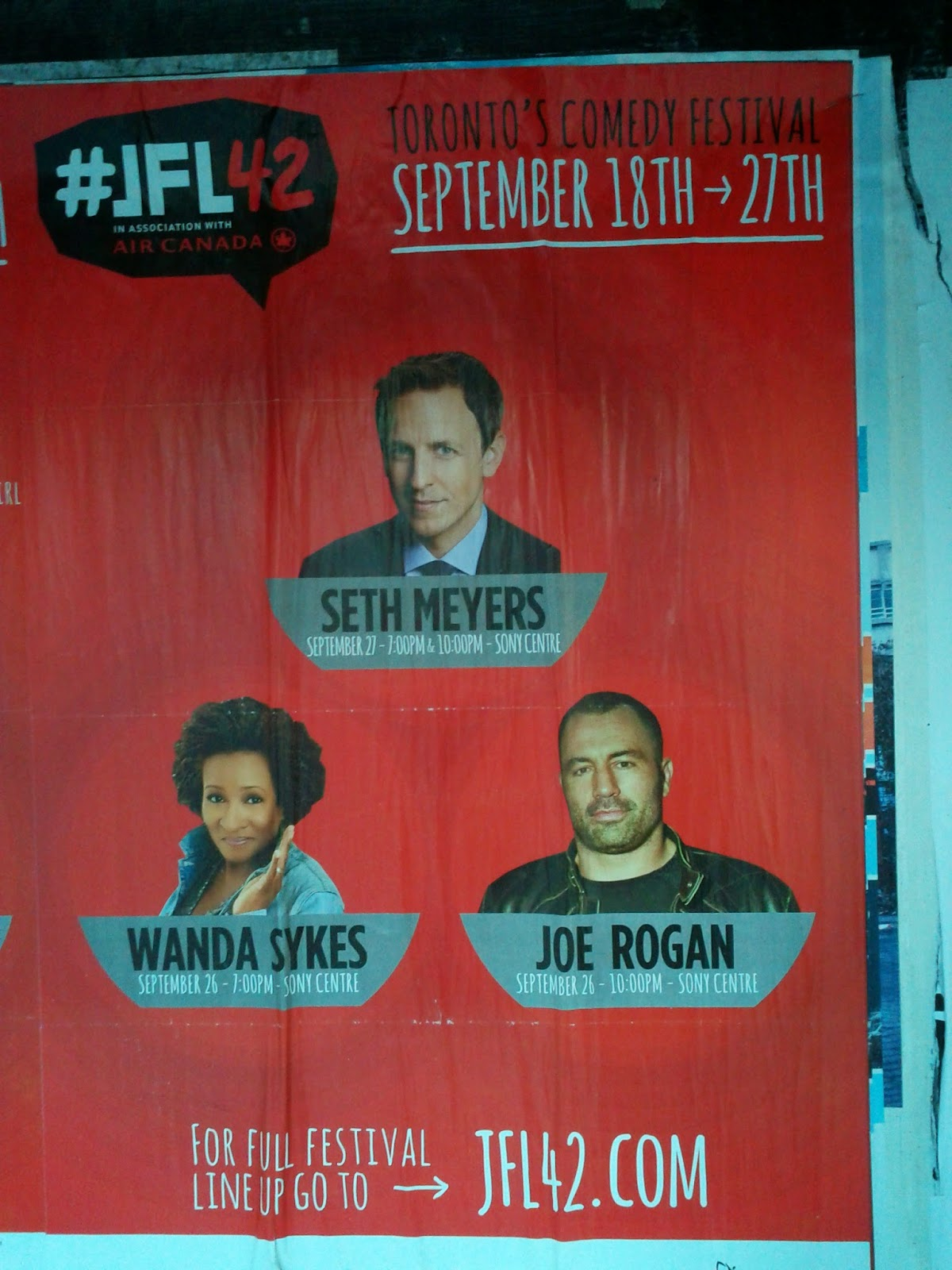 Joe Rogan in Toronto for Just For Laughs