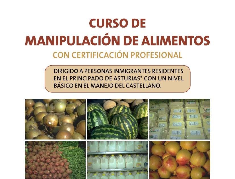 Red de apoyo gij n curso de manipulaci n de alimentos - Titulo manipulador alimentos ...