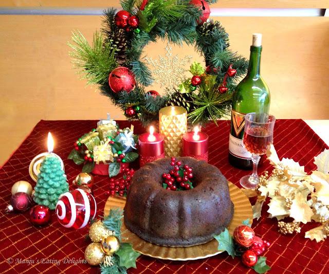 Christmas Fruit Cake Decoration Ideas : Manju s Eating Delights: Traditional Christmas Fruit Cake ...