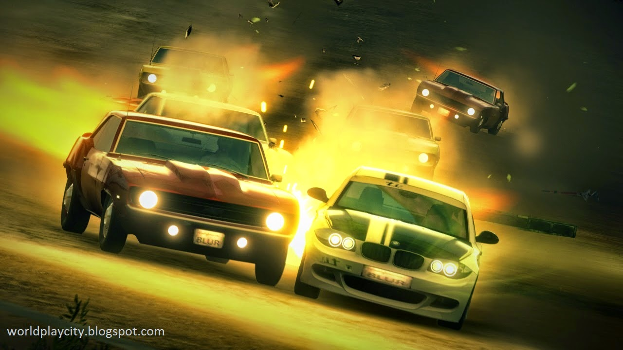 Blur PC Racing Game Free Download Full Version New